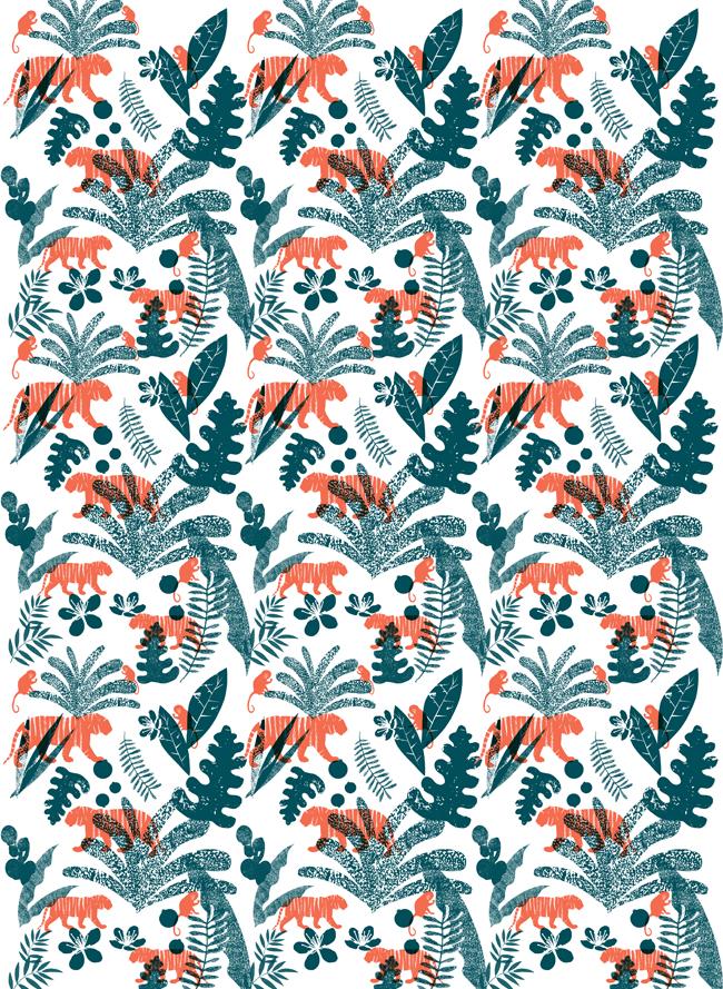 School Design Fabric