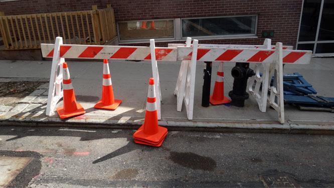 Construction Sawhorse Soccer Rotten Apple
